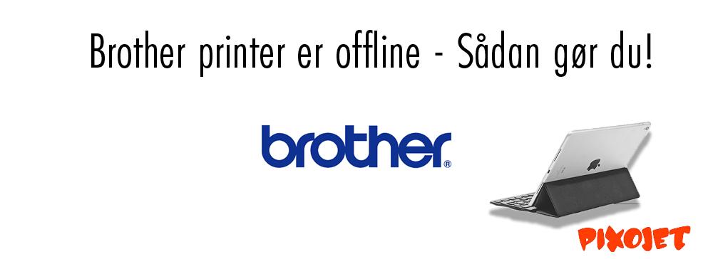 Printer er offline – Få hurtigt din printer online igen