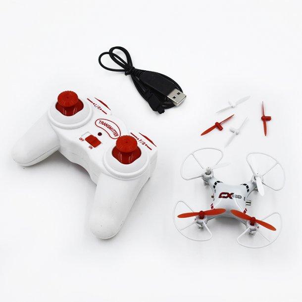 Quadcopter Drone 2.4GHz, CX023, m. remote control