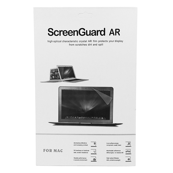 Image of   Screen protection film til MacBook, fås i flere str. MacBook Retina 15.4