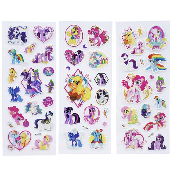 Image of   3D klistermærker My little pony