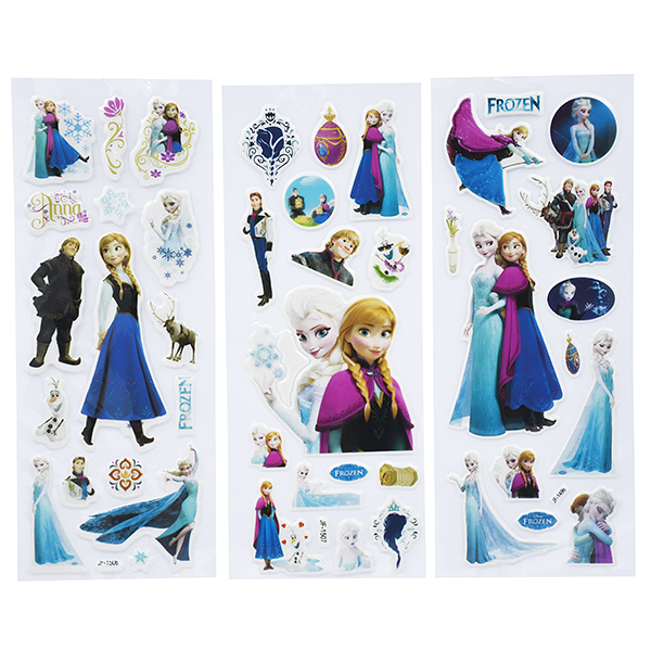 Image of   3D klistermærker Frozen
