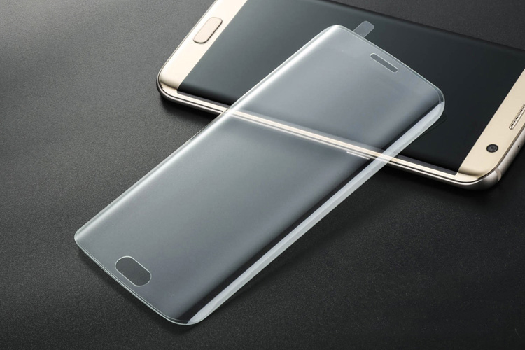 Image of   Tempered Glass Protection til Samsung Galaxy S6 Edge (curved)