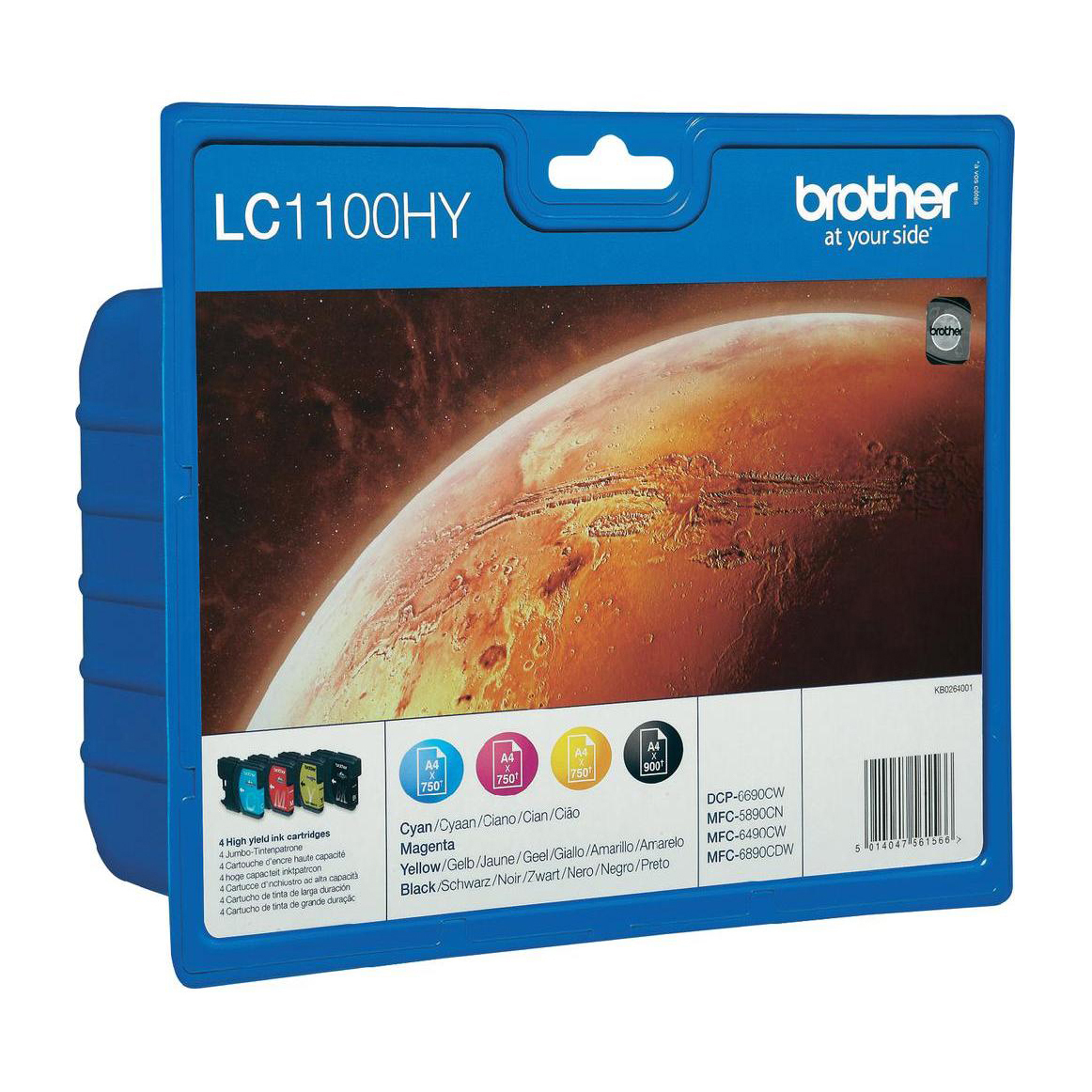 Image of   Brother LC1100 XL(LC-1100HYVALBP)