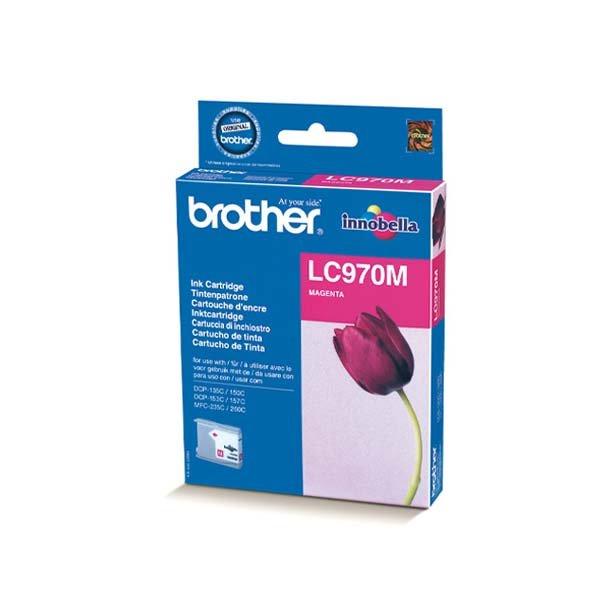 Brother LC 970 M blækpatron – LC970M – Magenta 300 sider