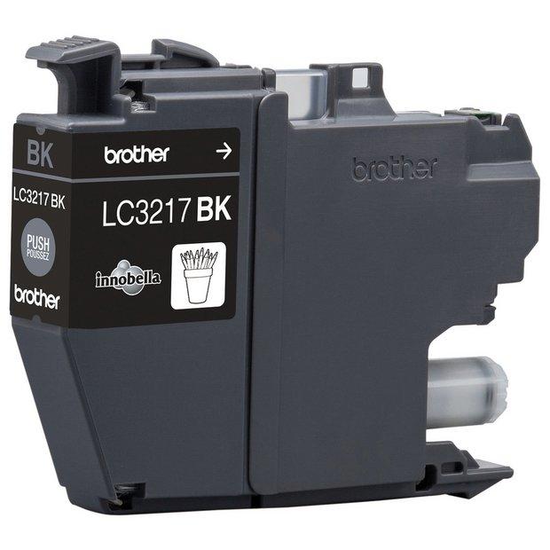Brother LC3217BK, sort blækpatron, Original
