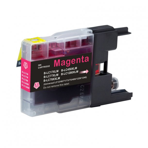 Brother LC1280 XL M –– Magenta 19 ml