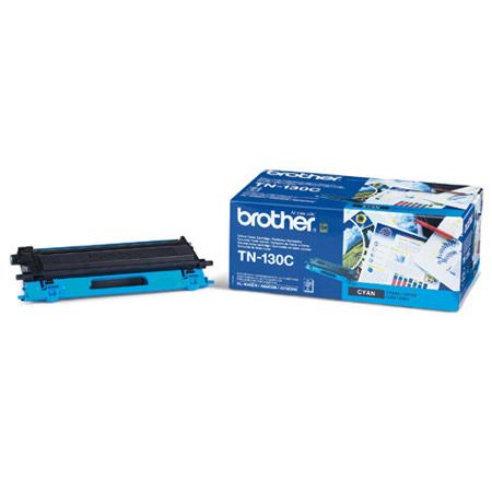 Image of   Brother TN130 C Cyan Lasertoner, Original