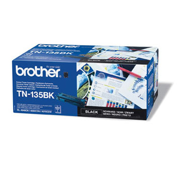 Image of   Brother TN135 BK sort Lasertoner, Original