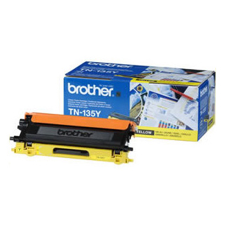 Image of   Brother TN135 Y Gul Lasertoner, Original