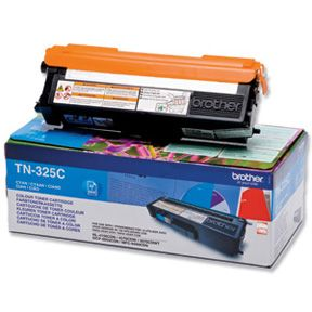 Image of   Brother TN325 C Cyan Lasertoner, Original