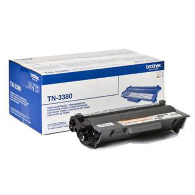 Image of   Brother TN3380 BK sort Lasertoner, Original