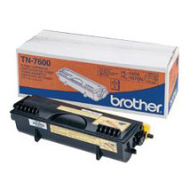 Image of   Brother TN7600 BK sort Lasertoner, Original