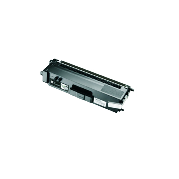 Brother TN370 BK Lasertoner, Sort, (2500 sider)