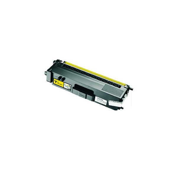 Brother TN390 Y Lasertoner, Gul, (1500 sider)