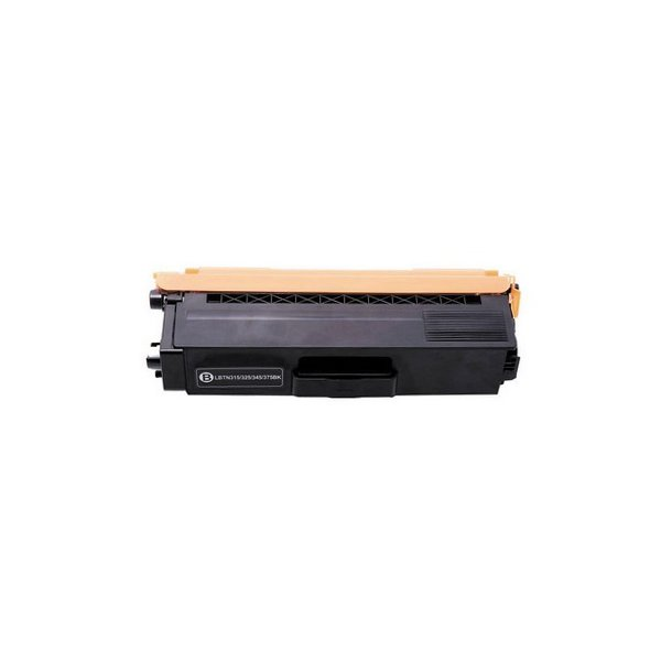 Brother TN375 BK Lasertoner, Sort, 6000 sider