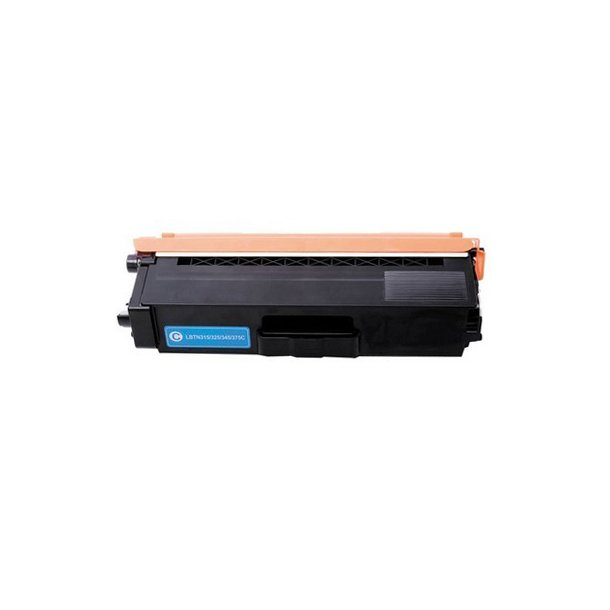 Brother TN375 C Lasertoner, Cyan, 3500 sider
