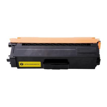 Kompatibel Brother TN325 Y Lasertoner, Gul, , 3500 sidor