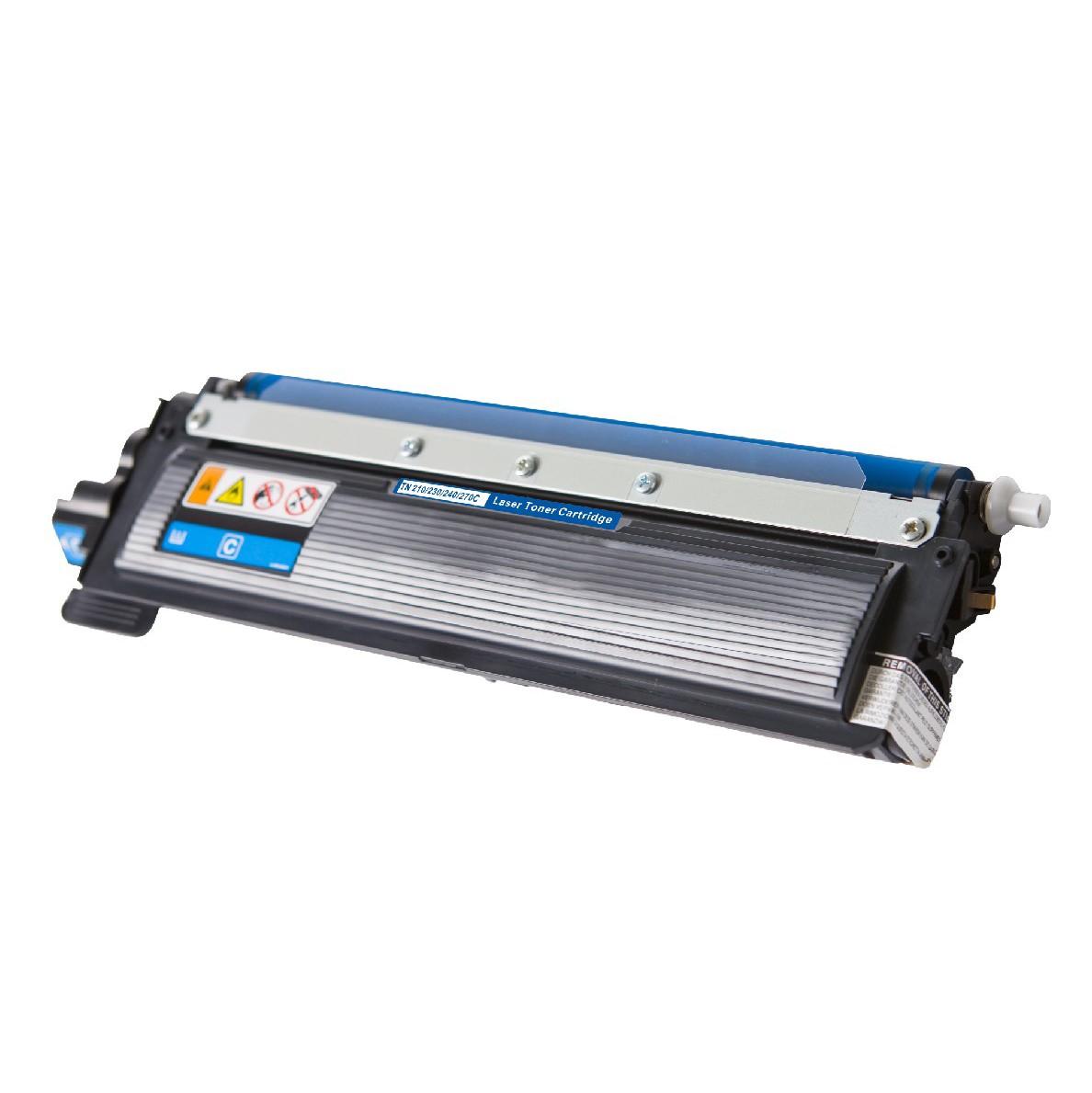 Brother TN270 C Lasertoner, Cyan, kompatibel (1400 sider)