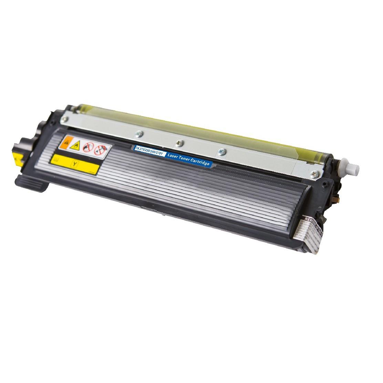 Brother TN210 Y Lasertoner, Gul,kompatibel (1400 sider)