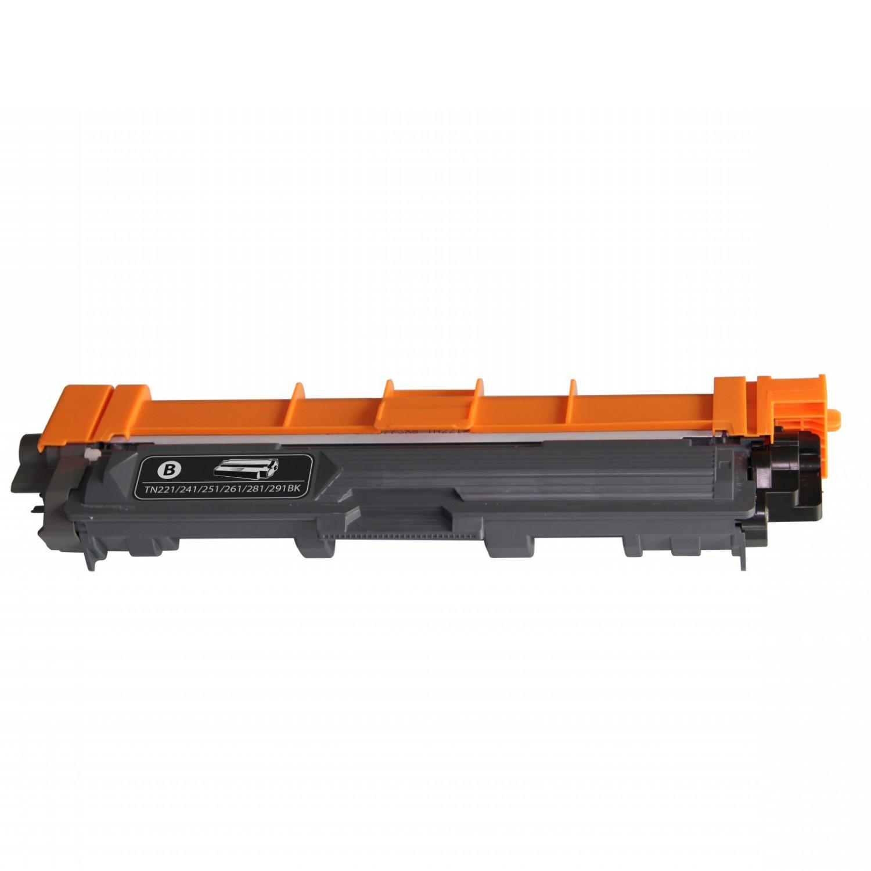 Brother TN221 BK Lasertoner, Sort, kompatibel (2200 sider)