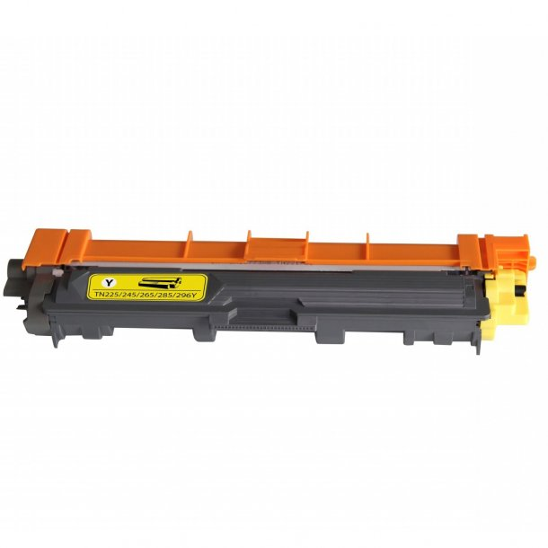 Brother TN296 Y Lasertoner, Gul, (2200 sider)