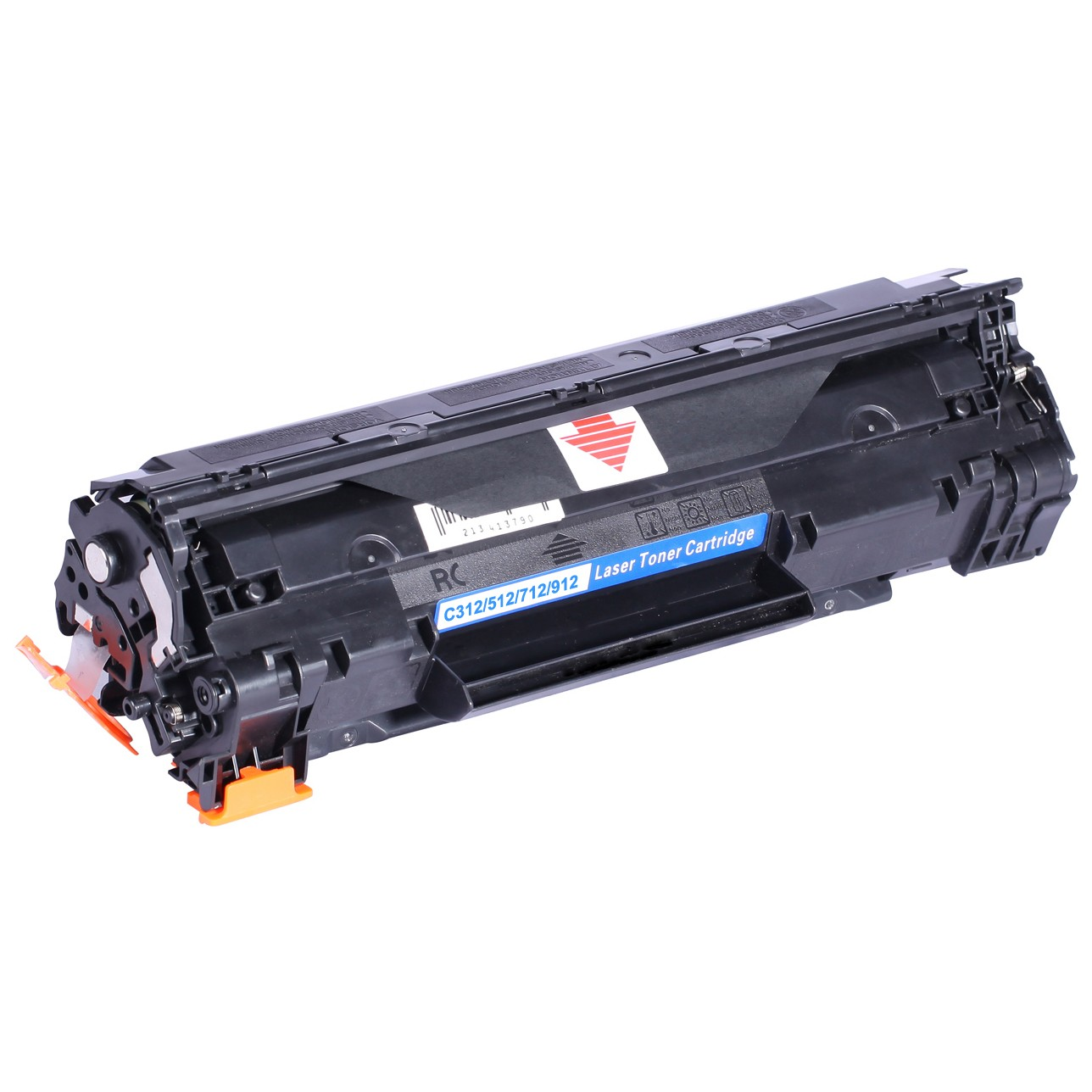 Image of   Canon CRG312/512/712/912 BK Lasertoner sort, kompatibel (1500 sider)