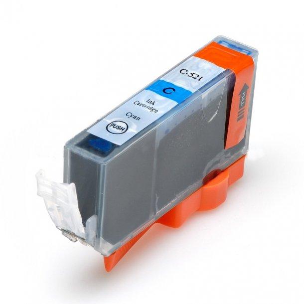 Canon CLI 521C, 10,5 ml Cyan blækpatron