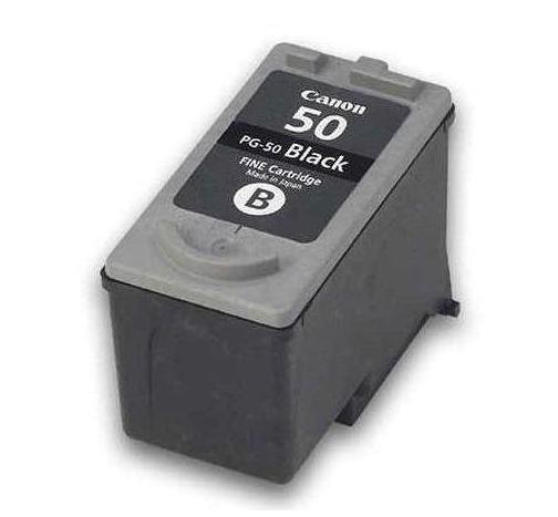 Canon PG-50 Sort kompatibel blækpatron (18 ml)
