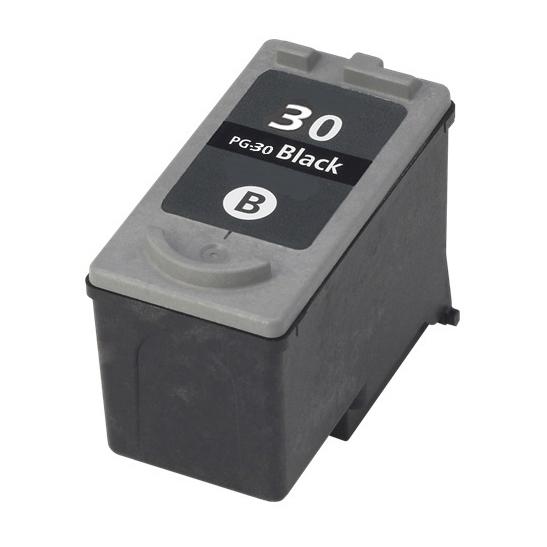 Canon PG-30 sort kompatibel blækpatron (9 ml)