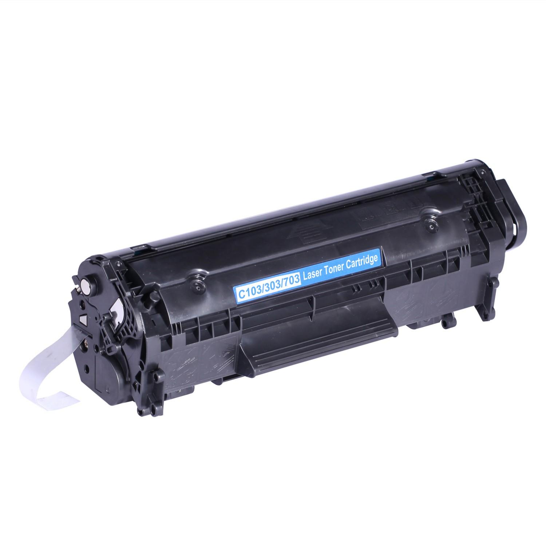 Image of   Canon CRG103/303/703 Lasertoner sort, kompatibel (2000 sider)