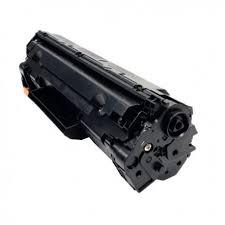Image of   Canon CRG137/337/737 BK Lasertoner, Sort, Kompatibel, 2400 sider