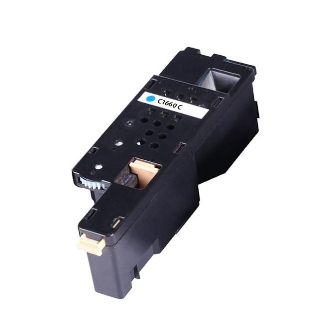 Image of   Dell C1660 C Lasertoner, Cyan, Kompatibel (1000 sider)