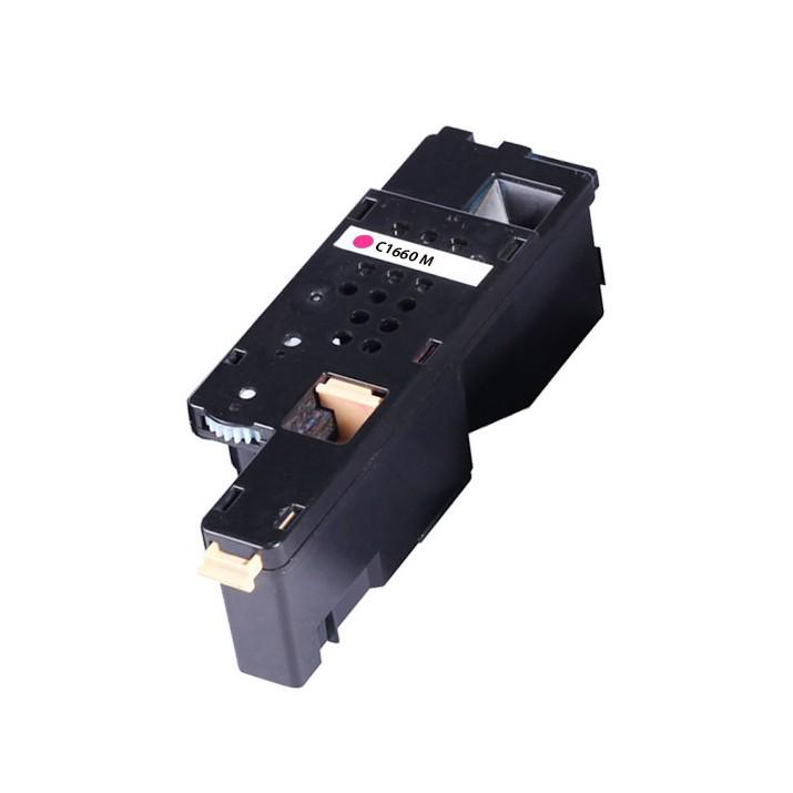 Image of   Dell C1660 M Lasertoner, Magenta, Kompatibel (1000 sider)