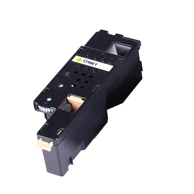 Image of   Dell C1660 Y Lasertoner, Gul, Kompatibel (1000 sider)