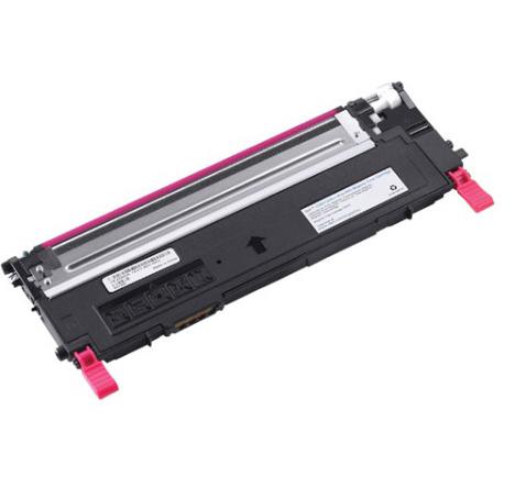 Image of   Dell 1230/1235 M Lasertoner, Magenta, Kompatibel, 1000 sider