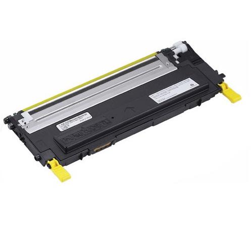Image of   Dell 1230/1235 Y Lasertoner, Gul, Kompatibel, 1000 sider