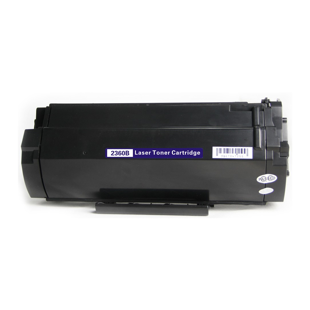 Image of   Dell 2360B BK Lasertoner, sort, kompatibel (8500 sider)