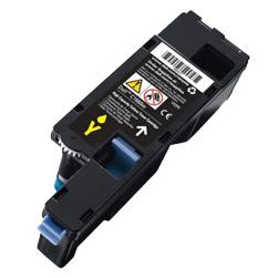 Image of   Dell C1760 Y (332-0408) Lasertoner, Gul, kompatibel (1400 sider)