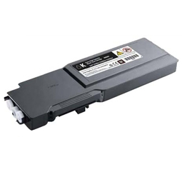 Image of   Dell C3760 BK (331-8429) Lasertoner, Sort, kompatibel (11000 sider)