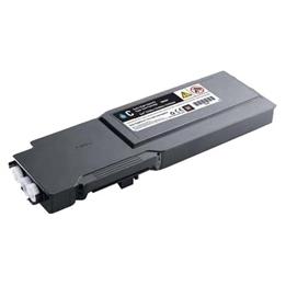Image of   Dell C3760 C (331-8432) Lasertoner, Cyan, kompatibel (9000 sider)