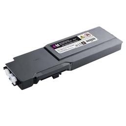 Image of   Dell C3760 M (331-8431) Lasertoner, Magenta, kompatibel (9000 sider)