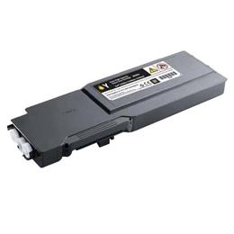Image of   Dell C3760 Y (331-8430) Lasertoner, Gul, kompatibel (9000 sider)