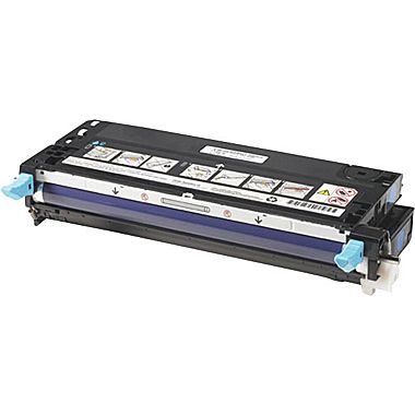 Image of   Dell PF029 (3115/3110cn) Lasertoner, Cyan, kompatibel (8000 sider)