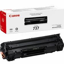 Image of   Canon CRG737 BK sort Lasertoner, Original