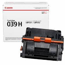 Canon CRG039H BK sort Lasertoner, Original