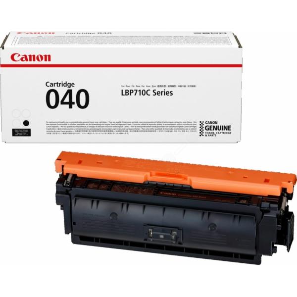 Canon CRG040BK Black Lasertoner, Original