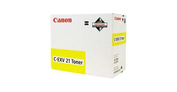 Canon C-EXV 21Y 0455B002 gul toner, original