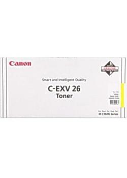 Image of   Canon 711 C-EXV 26 Y 1657B006 gul toner, original