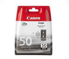 Canon PG 50XL BK, sort blækpatron, Original, 510 sider