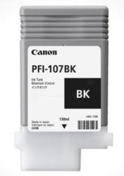 Canon PFI-107BK, sort blækpatron, Original, 130ml